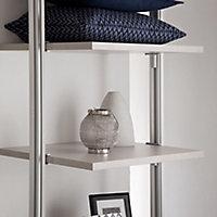 Relax Cream linen effect Shelf kit (W)900mm (D)330mm