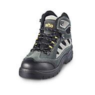 Site Granite Grey Trainer boot, Size 10