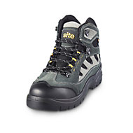 Site Granite Grey Safety boots, Size 9