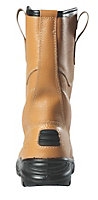 Site Gravel Tan Rigger boots, Size 11