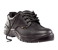 Site Coal Black Safety shoes, Size 10