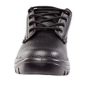 Site Coal Black Safety shoes, Size 7