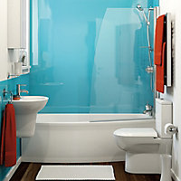 Vistelle Blue atoll Shower Panel (H)2070mm (W)1000mm (T)4mm