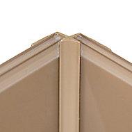 Vistelle Vistelle Mocha Straight Panel internal corner joint, (L)2500mm