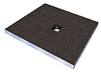 Aquadry Square Shower tray kit (L)1000mm (W)1000mm (D)45mm