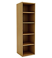 Oak effect Shelf (D)450mm