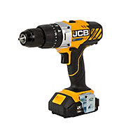 JCB Cordless 18V 2Ah Lithium-ion Brushed Combi drill JCB-18CD-2