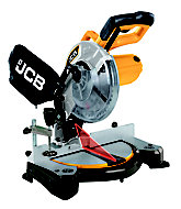 JCB 240V 210mm Compound mitre saw JCB-MS210-C