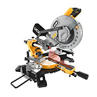 JCB Professional 1500W 240V 210mm Sliding Mitre Saw JCB-MS210-SB