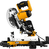 JCB 1500W 240V 210mm Sliding mitre saw JCB-MS210-SB
