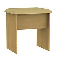 Montana Oak effect Dressing table stool (H)510mm (W)480mm (D)380mm