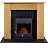 Adam Henson Oak effect Electric Fire
