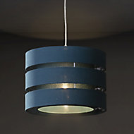 Colours Trio Teal Classic Light shade (D)350mm