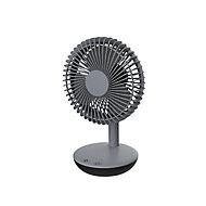"""Grey 6"""" 3.8W Cold Table fan"""