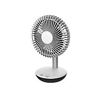 "White 6"" 3.8W Cold Table fan"