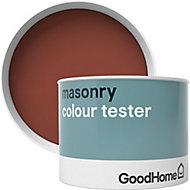 GoodHome Classic Harrow Smooth Matt Masonry paint, 0.25L Tester pot