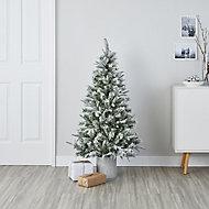 4ft Kabru Full looking snowy Artificial Christmas tree