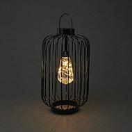 Ice white & warm white LED Lantern Silhouette