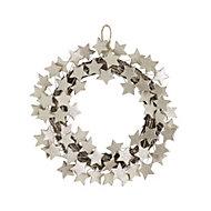 40cm Modern star Christmas wreath