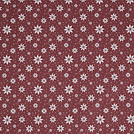 Stars & snow Christmas wrapping paper 4m