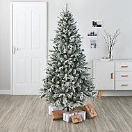6ft Kabru Full looking snowy Artificial Christmas tree