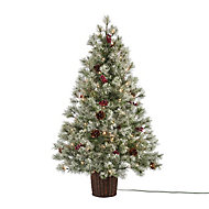 4ft Fairview Berry & cone Artificial Christmas tree