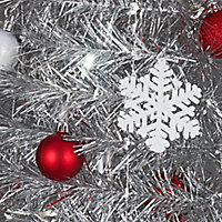 6ft Trevalli Predecorated Artificial Christmas tree