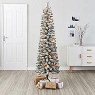 6ft Olan Snowy Artificial Christmas tree
