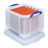 Really Useful Clear 35L Storage box