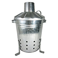 Steel 13L Incinerator (H)400mm (W)310mm (L)270mm