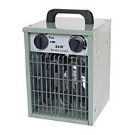 Apollo 2KW Grey Electric Greenhouse heater