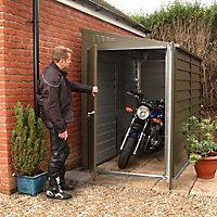 Tri-metals Protect a bike Metal 9x4 Motorbike store