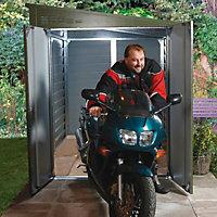 Tri-metals Protect a bike Metal 9x6 Bike store