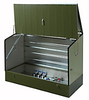 Protect a cycle Pent Metal Bike store 6x3