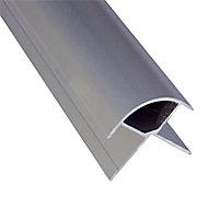 Splashwall Panel external corner joint, (L)2420mm