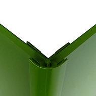 Splashwall Forest Straight Panel external corner joint, (L)2440mm