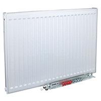 Kudox Type 11 single Panel radiator White, (H)500mm (W)800mm