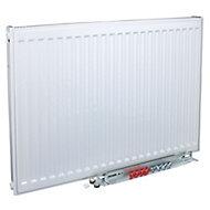 Kudox Type 11 Single Panel Radiator, White (W)1000mm (H)500mm