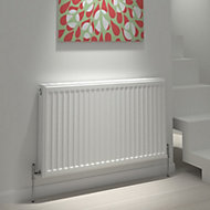 Kudox Type 11 single Panel radiator White, (H)600mm (W)1000mm