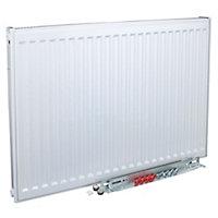Kudox Type 11 single Panel radiator White, (H)700mm (W)600mm