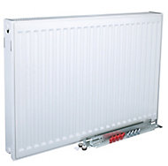 Kudox Type 22 Double Panel Radiator, White (W)1000mm (H)400mm