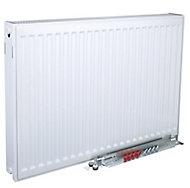 Kudox Type 22 double Panel radiator White, (H)600mm (W)1600mm