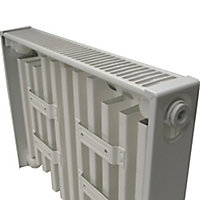 Kudox Type 11 Single Panel Radiator, White (W)600mm (H)300mm