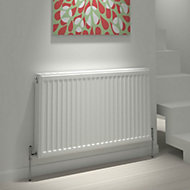 Kudox Type 22 double Panel radiator White, (H)600mm (W)1100mm