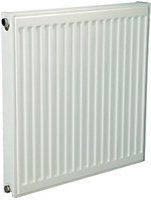 Kudox Type 21 double plus Panel radiator White, (H)600mm (W)1000mm
