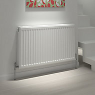 Kudox Type 21 double plus Panel radiator White, (H)600mm (W)1100mm