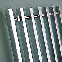 Kudox Filomena 358W Electric Towel warmer (H)800mm (W)600mm