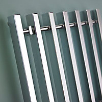 Kudox Filomena 403W Electric Towel warmer (H)800mm (W)800mm