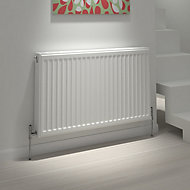 Kudox Type 22 double Panel radiator White, (H)500mm (W)1600mm