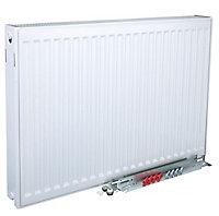 Kudox Type 22 double Panel radiator White, (H)500mm (W)1800mm